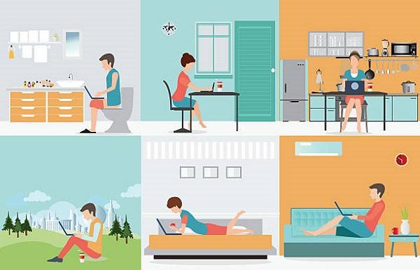 Coronavirus: Challenges of telecommuting